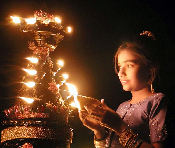 when is diwali celebrated